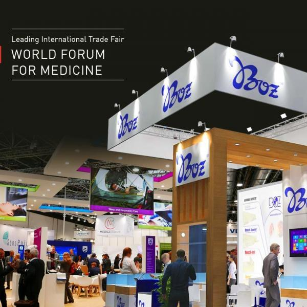 medica-forum-fair-2018-boz-tıbbi-stand-messe-düsseldorf-germany