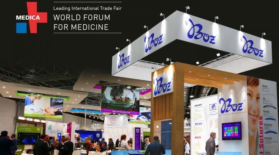 medica-forum-fair-2018-boz-tıbbi-stand-messe-düsseldorf-germany